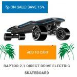 enertion raptor 2 skateboard coupon code