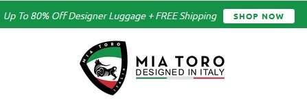 mia toro luggage italy coupon code