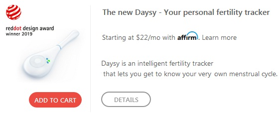 daysy fertility monitor discount code