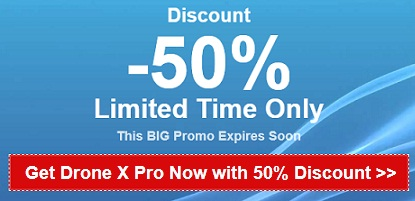 drone x pro b2g1 free coupon cde