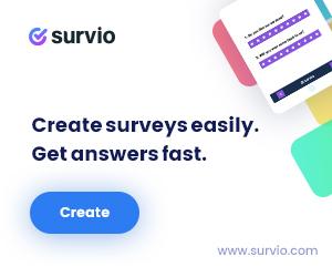Survio free trial coupon code