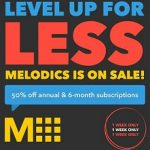 melodics free month coupon code