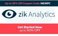 zik analytics coupon code logo