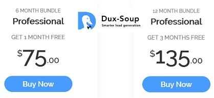 dux soup coupon code logo